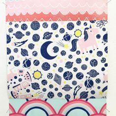 Playful Lino prints by Nina Ghataora Home Trends, Bible, Kids Rugs, Lino Prints, Instagram Posts, Designers, Home Decor, Biblia, Kid Friendly Rugs