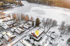 Rivitalon päätyasunto Espoossa, aivan Lippajärven rannalla. Snow, Outdoor, Outdoors, The Great Outdoors, Eyes, Let It Snow