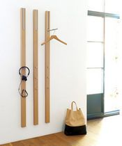 Modern Wall Coat Rack contemporary wall-mounted coat rack - elxvicent martinez