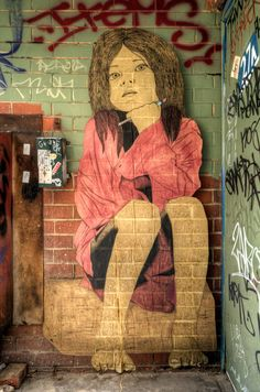 Forever changing, the walls of Melbourne are always adorned with fascinating, beautiful street art