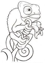 Bildergebnis Fur Chamaleon Tattoo Tiere Zeichnen Malvorlagen Tiere Chamaleon