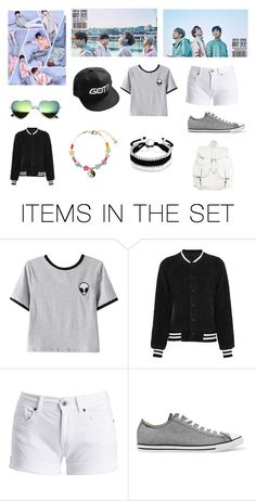 """""""Outfit for Got7 Concert"""" by lilykat004 on Polyvore featuring art, concert, kpop, bambam and GOT7"""
