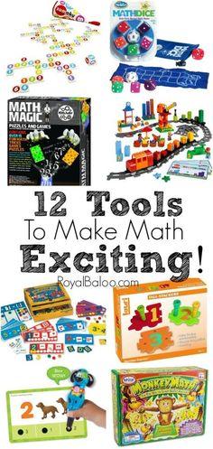 12 Tools to Make Math Exciting - Royal Baloo