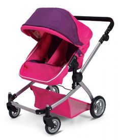 Deluxe Twin Doll Pramstroller