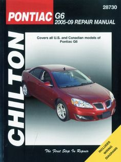 Pontiac G6, 2005 Thru 2009 (Chilton's Total Car Care Repair Manuals) - http://musclecarheaven.net/?product=pontiac-g6-2005-thru-2009-chiltons-total-car-care-repair-manuals