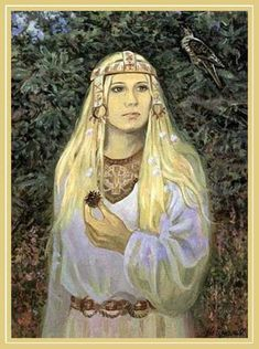 Zhiva - a slavic goddess of fertility.