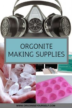 Orgonite Making Supplies - Orgonise Yourself Resin Crafts, Resin Art, Jewelry Crafts, How To Make Crystals, Diy Crystals, Clear Casting Resin, Pearl Ex, How To Clean Metal, Diy Arts And Crafts