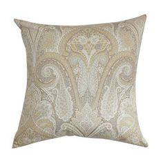 I pinned this from the Shades of Style: Natural & Neutral - Refreshing Curtains & Pillows event at Joss and Main!