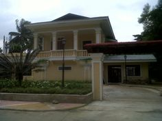 MLQuezon House from Gilmore St. Now at Quezon Memorial Circle.