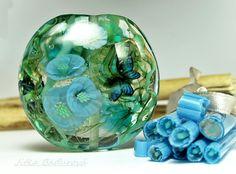 3D Murrini, Lampwork by BaduBeads on Etsy