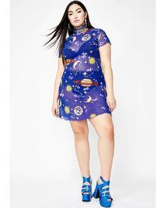 38b92e89dfb5ff Dreamy Astro World Mesh Dress  dollskill  horoscopez  aquarius  zodiac   airsign