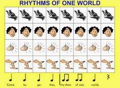 Stay Tuned! : Grade 1 Body Percussion Compositions