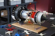 Motores fabricados con impresoras 3D