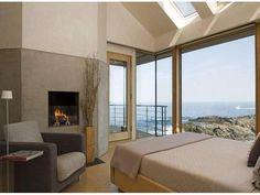 Case al mare - Camera da letto vista oceano