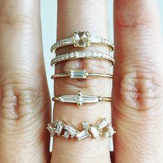 Contemporary Wedding Rings