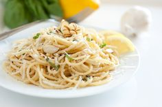 Browned Butter Lemon Pasta