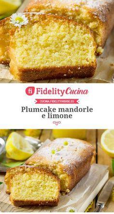 Plumcake mandorle e limone