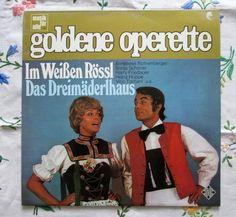 Goldene Operette - Im Weissen Rössl - Das Dreimäderlhaus - Musik fur alle NT 504  Germany