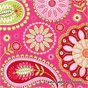 Gypsy Bandana Paisley Pink by Pillow & Maxfield