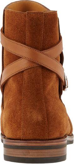 Ankle-Wrap Jodhpur Boots