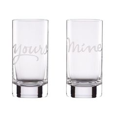 Could totally make this. Champagne flutes for a wedding? Personalized for New Years Party?