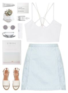 """""""{506}"""" by oliviarose-i ❤ liked on Polyvore featuring Conair, Topshop, MANGO, Monique Péan, Byredo, NARS Cosmetics, Herbivore and ASOS"""