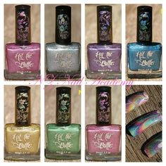 New holographic stamping polish