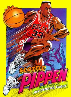 Scottie Pippen - Air Dynamic Flight