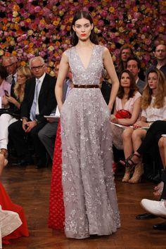Kati Nescher in Christian Dior Fall 2012 Couture