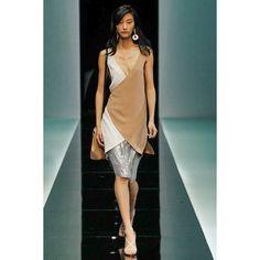 Show Review: Emporio Armani Spring 2013 « The Fashion Bomb Blog :... via Polyvore