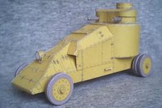 Mgebrov-Renault Armored Car Free Paper Model Download - http://www.papercraftsquare.com/mgebrov-renault-armored-car-free-paper-model-download.html#143, #ArmoredCar, #MgebrovRenault