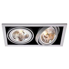 Spots downlight multiple encastrables et orientables TBT - 99€