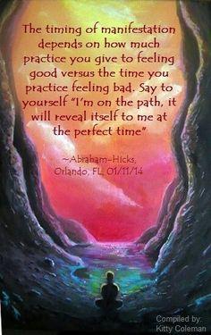 ..Hicks visualization meditation 21days selftalk 40days