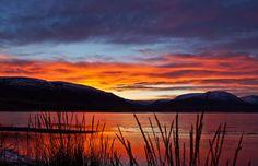 This morning in Akureyri. | Flickr -