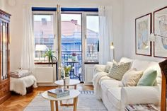 Jurnal de design interior - Amenajări interioare : Mini apartament de 38 m² în Suedia