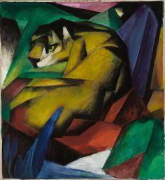 Franz Marc Poster - The Tiger