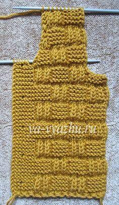 Kate's Crochet World Baby Knitting Patterns, Baby Boy Knitting, Knitting Stitches, Crochet Patterns, Baby Pullover, Baby Cardigan, Men Cardigan, Baby Boy Vest, Pull Bebe