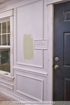 Dining Room & Entryway Progress | Room pictures, Moldings and Room