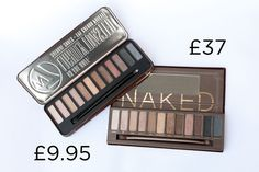 W7 In The Buff Palette in Lightly Toasted, £9.95 | 10 Totally Flawless Dupes For The Naked Palette