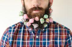 Will It Beard: Fun Photo Series of Random Household Items Stuck in a Man's Beard   Stacy Thiot