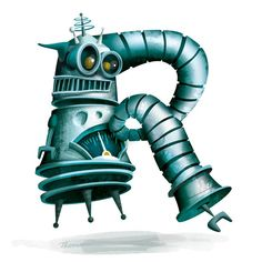 R is for Robot! ewthomason.com