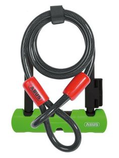 Abus Ultra 410 Mini Bicycle U Lock/Cobra 10/120 Coil Combo – 7inch x 12mm http://www.hackneylocks.co.uk/