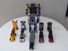 Transformers G1 Stunticons and Menasor