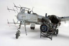 "Heinkel He-219 ""Uhu"", Zoukei-Mura 1/32, Aitor Aizkue ,Expo Modelista 2014"