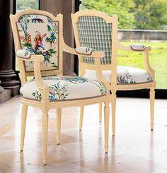 "Brunschwig & Fils ""Le Jardin Chinois"" collection fabrics"