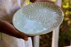 Oval Ceramic Dish ceramic platter handmade pottery
