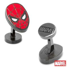 Officially licensed Spider Man Cufflinks by Marvel. Available only at CUFFZ.com.au