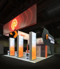 Exhibition Booth Header : Best technology exhibits images in show booth trade