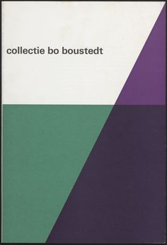 Wim Crouwel - Collectie Bo Boustedt