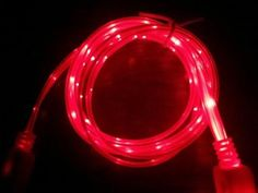 LED Pink Light Micro USB Charger cable Sync Data Cord Android Samsung Blackberry